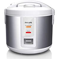 Philips Daily Collection HD3011/08 - Arrocera (Plata, Blanco, 1 L, 720 min, 1,2 m, 3,1 kg, 500 W)