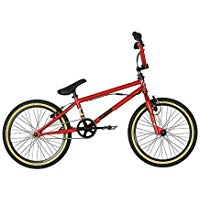 "Bicycle Moto & Cross OPT20RED - Bicicleta BMX freestyle ( 20 "" ), color rojo, talla 10 """