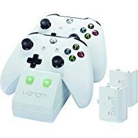 Los mejores  - Venom - Twin Docking Station & Battery Packs Con Cubiertas, Color Blanco (Xbox One)