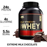 Los mejores  - Optimum Nutrition Gold Standard 100% Whey, Suplemento para Deportistas (Extremo Chocolate con Leche), 2270 g